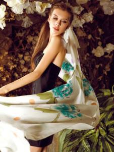 丝界围巾丝巾253386款