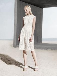 丽莫女装2016新品蕾丝裙
