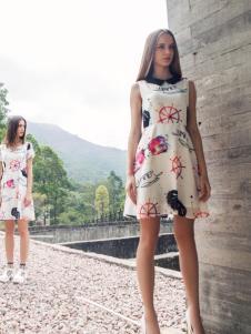 蜜西娅女装2016新款修身连衣裙