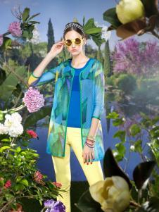 2016温莎蒂女装新款绿色外套