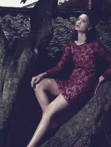 香莎女装新品蕾丝裙