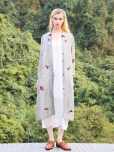 2016蒙杰诗丹女装夏季新款灰色外套