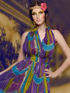 卡瑟蒂时尚长裙