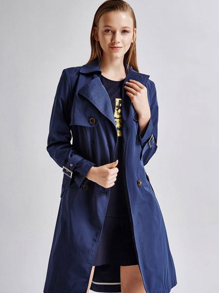 艾露伊LOEY女装秋季风衣外套