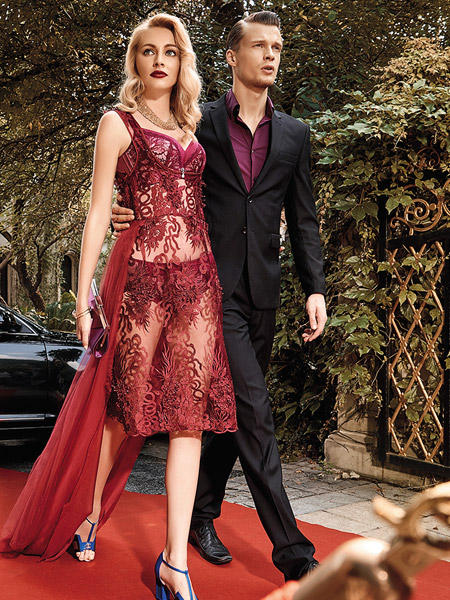 爱戴2016新款红色内衣