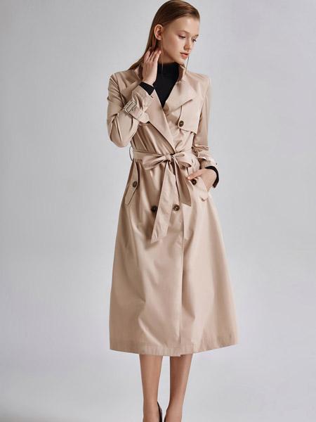 艾露伊LOEY女装秋季新款风衣外套