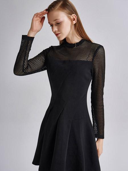 艾露伊LOEY女装秋季新款连衣裙