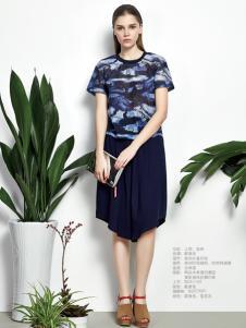 佰佧丽2016夏装新品连衣裙