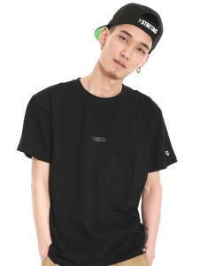 2016思锐泰格新款黑色男款T恤