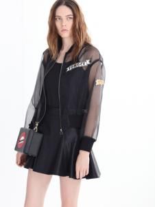 法曼斯女装2016秋冬新品皮裙