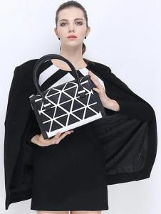 骆驼皮具2016新品方形手提包