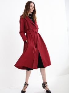 法曼斯女装2016秋冬新品风衣