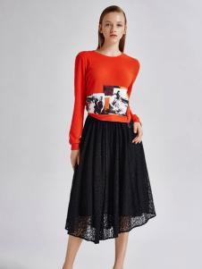 艾露伊LOEY女装秋季时尚半裙