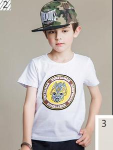 2016爱制造童装新款白色T恤