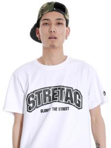 2016思锐泰格新款白色T恤