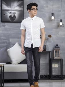 佰威奇白色衬衫
