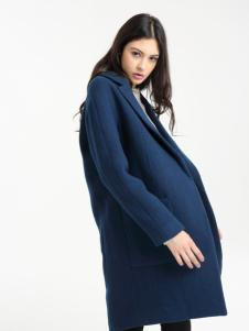 一本衣物秋冬毛呢大衣