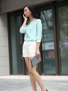 格蕾诗芙蕾丝短裤