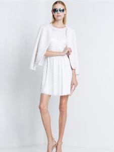 2016宝姿女装新款白色外套