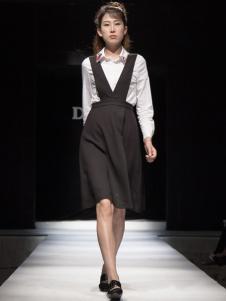 丹诗格尔女士背带裙