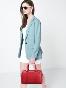 骆驼皮具2016新品红色手提包