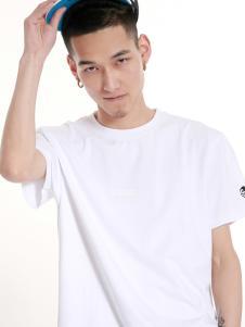 2016思锐泰格新款男款白色T恤