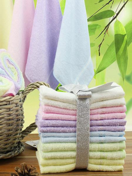 竹林春天竹纤维毛巾