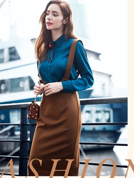 知彩女装秋季新款时尚套装
