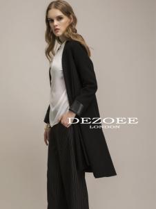 迪索怡黑色外套