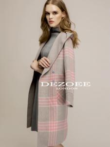 迪索怡毛呢大衣