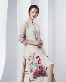 娅玛诗春季连衣裙