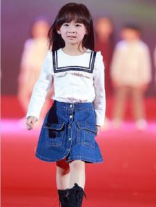 汤尼罗宾女童牛仔半裙