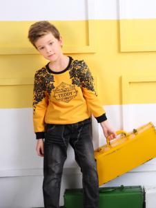 泰迪熊珍藏秋季T恤