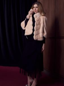 法国图案女装秋冬皮草
