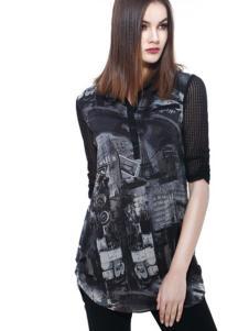 东琳女装2016新品长款上衣
