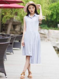 卡漫拉(KAMANLA)2016新品无袖连衣裙