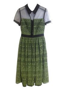 Flora Garden女装2016新款女式拼接连衣裙
