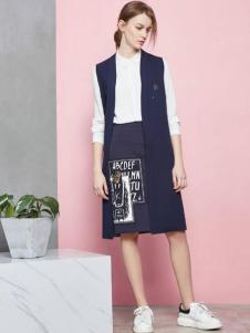 JUST&TH女装2016新品马夹