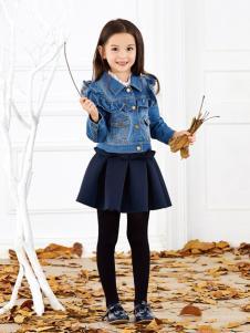 杰米杰妮童装2016新品牛仔衣