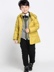 希比兒童装2016新品带帽外套