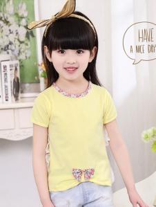旺贝特黄色T恤