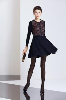 宝丝露时尚连衣裙