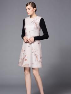 经典故事秋冬潮流女装连衣裙新品