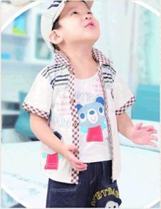 旺贝特男童休闲衬衫
