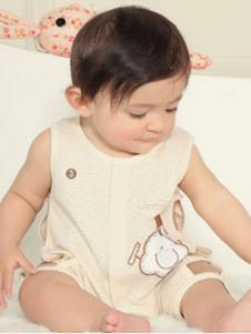 呗吖吖婴儿连体背心