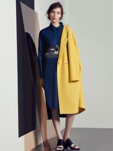 蓝色倾情2016冬季大衣