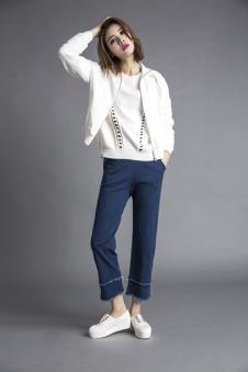 3d女装白色外套