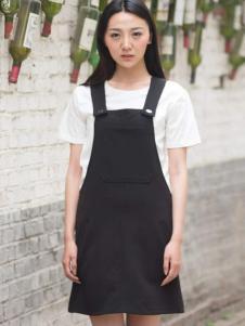卡漫拉(KAMANLA)2016新品背带裙
