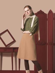 HelenModa女装2016新品A字裙