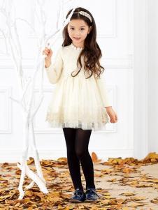 杰米杰妮童装2016新品网纱裙